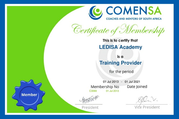 COMENSA Registered Training Provider
